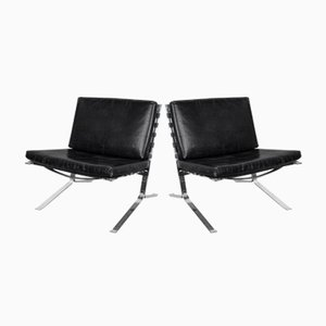 Vintage Joker Lounge Chairs by Oliver Mourgue for Airborne, Set of 2