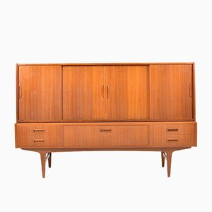 Vintage Danish Highboard Cabinet