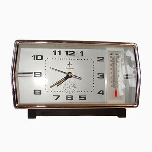 Clock with Thermometer from Time Star, 1970s