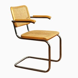 S64 Cantilever Chair by Marcel Breuer for Thonet, 1981