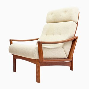 Vario High Back Teak Armchair from Glostrup Møbelfabrik, 1960s
