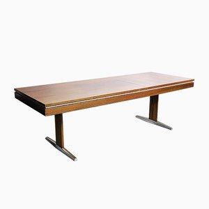 Verstellbarer Deutscher Palisander Tisch von E.M.Ü, 1960er