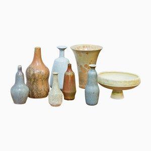 Vases Mid-Century Collection of Miniature par Gunnar Nylund