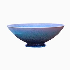 Large Aniara Stoneware Bowl by Sven Wejsfelt for Gustavberg, 1989
