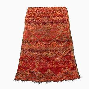 Vintage Beni MGuild Moroccan Carpet