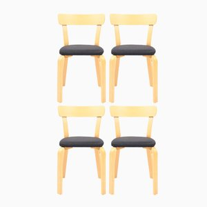 Vintage Model 69 Chairs by Alvar Aalto for Artek, Set of 4