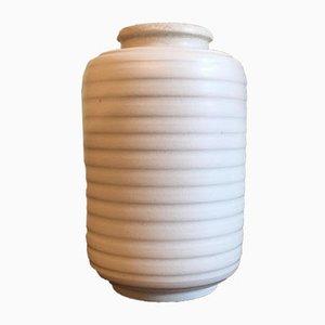 Vintage Carrara Stoneware Vase by Wilhelm Kåge for Gustavsberg