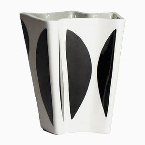Vintage Kontrasta Stoneware Vase by Carl-Harry Stålhane for Rörstrand