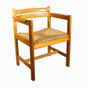Vintage Asserbo Armlehnstühle von Børge Mogensen für Karl Andersson & Söner, 4er Set