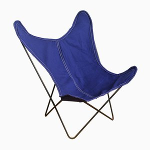 Blue Butterfly Chair from Artek Pascoe