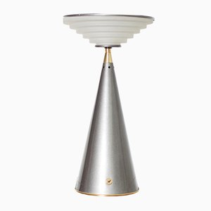 Lámpara de mesa Ziggurat de Stilnovo, años 80