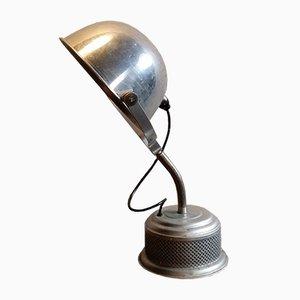 Industrielle Vintage Aluminium Tischlampe