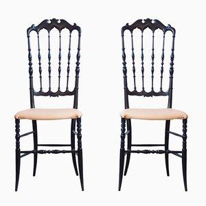 Chiavari Stühle von Giuseppe Gaetano, 1970er, 2er Set