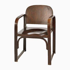 Silla modelo A 745 F vintage de madera curvada de Thonet