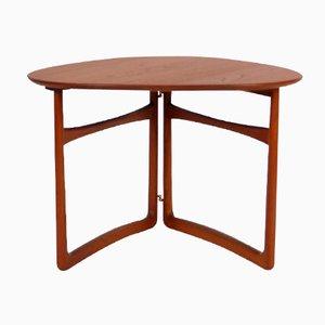 Table Pliante Vintage FD18/57 par Peter Hvidt & Orla Mølgaard Nielsen pour France & Daverkosen