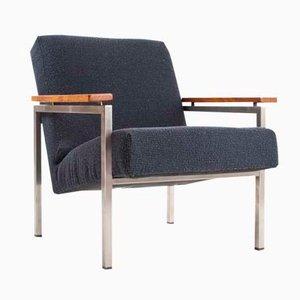 Dutch Model 30 Easy Chair by Gijs van der Sluis for Van der Sluis Stalen Meubelen, 1950s