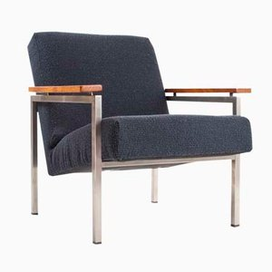 Easy Chair Modèle 30 par Gijs van der Sluis pour Van der Sluis Stalen Meubelen, Pays-Bas, 1950s