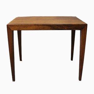 Tavolino di Severin Hansen per Haslev Møbelsnedkeri, anni '60