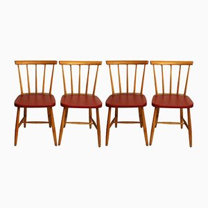 Mid-Century Vintage Dining Chairs, 1960s, Set of 4