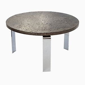 Table Basse Ronde Modèle 1065 par Peter Draenert, 1968