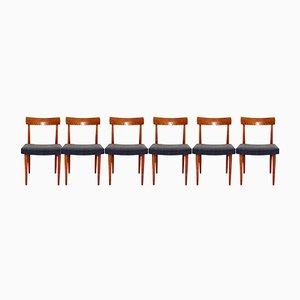 Chaises de Salon Vintage, Autriche, 1960s, Set de 6
