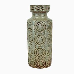 Vase Amsterdam avec Relief en Beige de Scheurich, 1960s