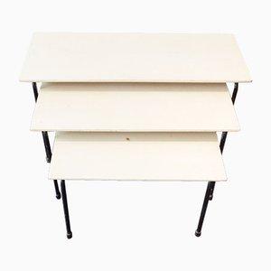 Tavolini a incastro Twello di Martin Visser per 't Spectrum, anni '50