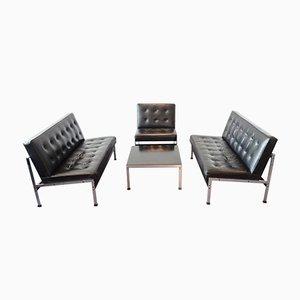 Set da salotto modello nr. 020 vintage di Kho Liang Ie per Artifort
