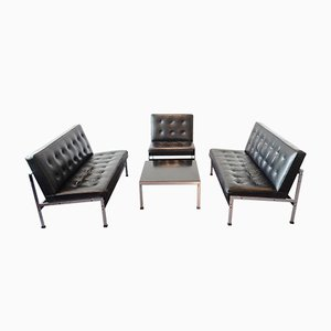 Vintage Model 020 Seating Group by Kho Liang Ie for Artifort