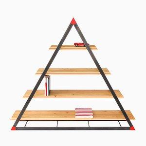 Librería NOON triangular de Dozen Design