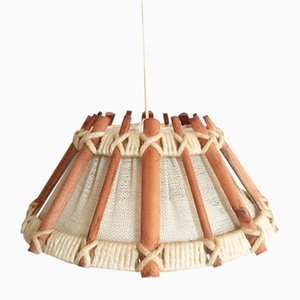 Lámpara de suspensión escandinava vintage, años 60
