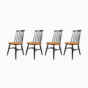 Fanett Chairs by Ilmari Tapiovaara, 1960s, Set of 4
