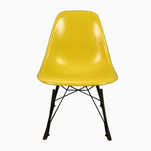 Yellow Rocking Chair by Charles & Ray Eames for Herman Miller, 1960s