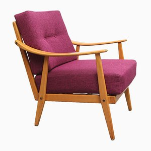 Sessel in Violett, 1950er