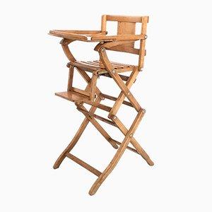 Italian Beech Children's Chair from Fratelli Reguitti, 1950s