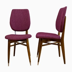 French Chairs, 1960s, Set of 2