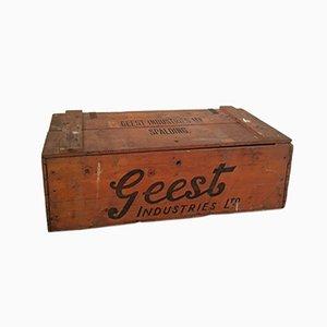 Caja de plátanos de Geest Industries, 1961