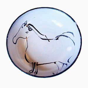 Small Cup with Horse by Jacques Innocenti, 1950s