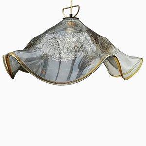 Modell Handkerchief Glas Deckenlampe von J.T. Kalmar für Kalmar, 1960er