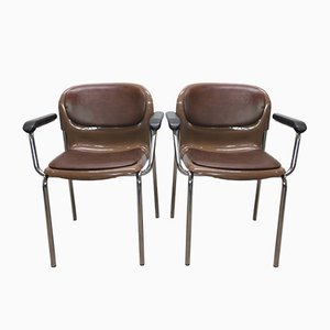 Sm 400 K Armchairs by Gerd Lange for Drabert, 1977, Set of 2