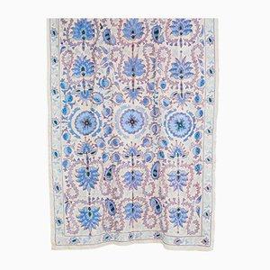 Mid-Century Vintage Uzbek Wall Tapestry