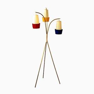 Vintage Stehlampe von Nikoll, 1950er