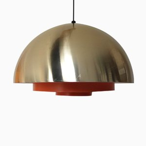 Lámpara colgante Milieu Mid-Century de Jo Hammerborg para Lyfa