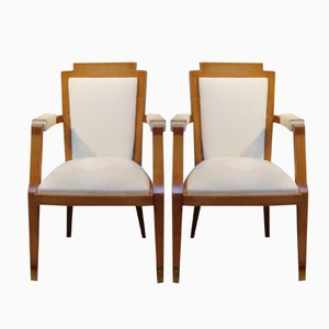 Mid-Century Armchairs by Darbois-Gaudin Germaine, 1949, Set of 2