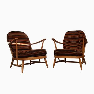 Easy Chairs by Lucian Ercolani for Ercol, Set of 2