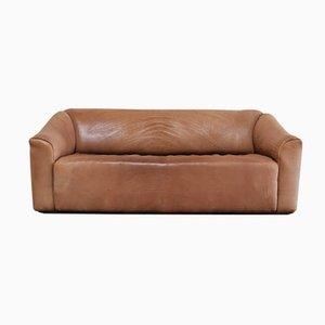 Sofá de tres plazas DS-47 vintage de cuero coñac de de Sede
