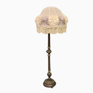 Antique Floor Lamp in Gilded Wood, 1920s