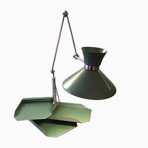 Mid-Century Spanish Diabolo Architect Lamp, 1950s