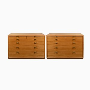 Lemon Tree Chest of Drawers by Edward Wormley for Drexel, 1950s, Set of 2