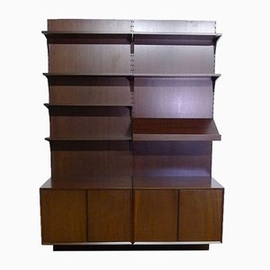 Mid-Century Royal System Mahogany Wall Unit by Poul Cadovius for Cado